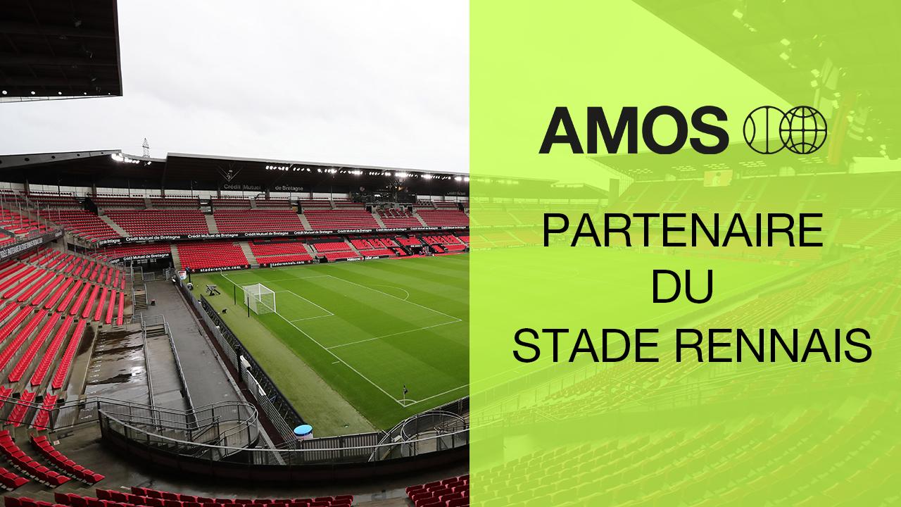 AMOS devient partenaire du Stade Rennais !