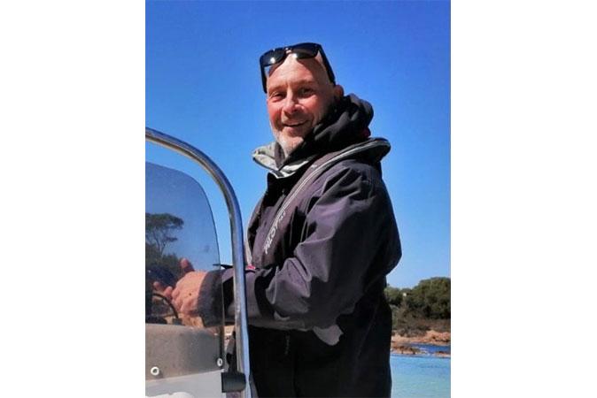 """Stéphane Guerquin Président du """"Granville Surf Park"""""""