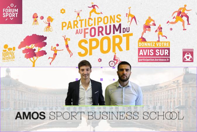 Nos étudiants Master 2 au cœur de la consultation des acteurs du sport bordelais