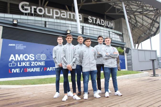AMOS devient Namer Officiel de la Like Zone du Groupama Stadium